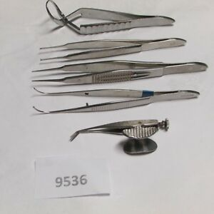 Weck Lawton Sklar Ophthalmic Instruments Lot Of 5
