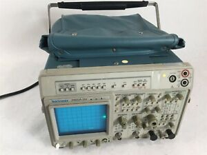Tektronix 2465a 350mhz Auto 4 Channel Auto Setup Analog Frequency Oscilloscope