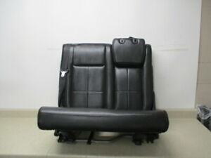 07 17 Expedition Navigator Left 3rd Row Rear Bench 60 40 Back Seat Folding Oem