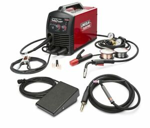 Lincoln Power Mig 140mp Multi process Welder Tig One Pak K4499 1