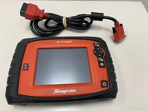 Snap On Ethos Plus Eesc319 Obdii Touchscreen Scanner Diagnostic Tool 15 4 Kit