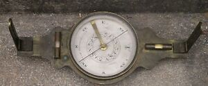 Antique Brass Surveying Surveyors Vernier Transit Compass B Pike Jr New York Ny