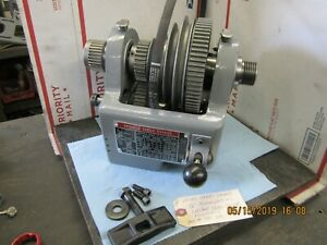 Atlas Craftsman 12 Commercial Lathe Headstock Assembly 11 2 X 8 Tpi