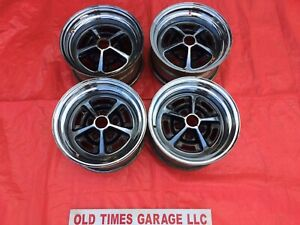 Oe 1970 s Ford Mustang Torino Magnum 500 Wheels Rims 14x7 Matched Set Of 4 Mopar