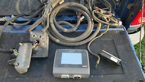 Case Ih Afs Universal Display Yield Monitor Part No 293255a1 Combine Harness