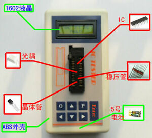 Integrated Circuit Ic Tester Transistor Tester Online Maintenance Digital Led