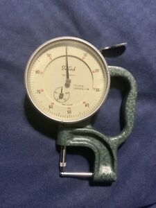 Vintage Teclock Tpm 116 Thickness Gage 0 4 0 001 Made In Japan