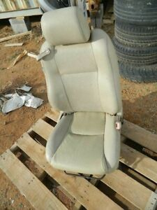 2004 2005 2006 Toyota Solara Convertible Front Right Passenger Seat Tan Leather