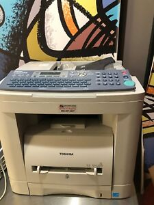 Used Toshiba Fax Machine E Studio 190f Good Condition