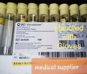 Bd Vacutainer 364606 Tubes For Prp Choose Desired Quantity 2021 Ship Same Day