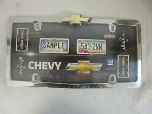 Cruiser Accessories Chevy Bow Tie License Plate Frame 10437