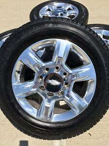 20 20 Inch Chevy Silverado 2500 3500 Oem Wheels Rims Rines Tires 5803 2019