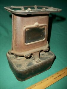 Antique Sad Iron Kerosene Heater Taylor Boggis Fdy Co Cleveland No 10