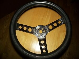 Vintage Small Spoke Rubber Rim 12 Steering Wheel Rat Rod Superior The 500