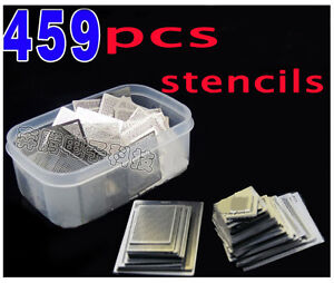 459 Pcs set Bga Direct Heating Stencil Bga Reballing Reball Stencils Kit