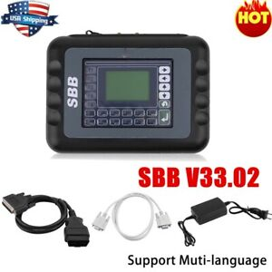 Sbb Key V33 02 Maker Programmer Immobiliser Ecu Auto Remote Car Obd2