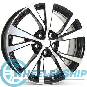 New 18 Wheel For Nissan Maxima 2016 2017 2018 Machined W Black Rim 62721