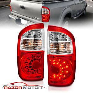 For 2000 2001 2002 2003 2004 2005 2006 Toyota Tundra Pickup Led Red Tail Lights
