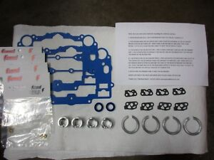 Carter Edelbrock Afb 600 To 400 Cfm Carb Restrictors 2x4 Dual Quad Kit