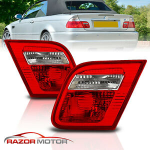 2000 2001 2002 2003 For Bmw E46 3 Series 325ci 330ci M3 Coupe Red Tail Lights