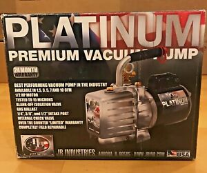 Jb Industries Dv 285n Platinum 2 Stage Vacuum Pump 10 Cfm New In Box