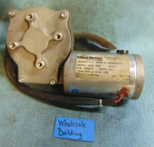 Allied Motion Stature Electric Gear Motor 36vdc 5046 032 1008274 68rpm 08hp
