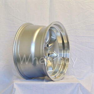 2 Pcs Only Rota Rkr Wheels 17x9 5 20 4x114 3 R Silver Ae86 240z Big Caps