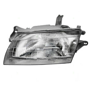 97 98 Mazda 323 Protege Drivers Headlight Lens Housing Assembly Bg1n 51 040d P1