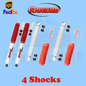 Rancho Rs5000 Front rear 4 Lift Shocks For Toyota Mini Pickup 4wd 84 85 Kit 4