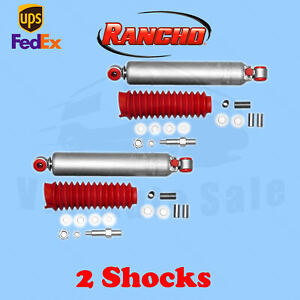 Rancho Rs9000xl Rear 0 1 Lift Shocks For Mitsubishi Montero 4wd 83 88 Kit 2