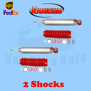 Rancho Rs9000xl Front 4 Lift Shocks For Toyota Mini Pickup 4wd 84 85 Kit 2