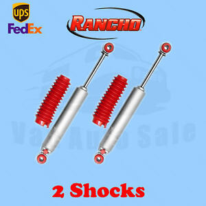 Rancho Rs9000xl Rear 0 2 Lift Shocks For Toyota 4runner 2wd 84 85 Kit 2
