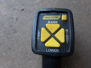Working Fisher western Handheld Plow Controller Snow Touchpad 9400 Fishstik