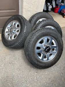 Chevy Wheels And Tires Firestone Transformer At2 Like New 265 70 18
