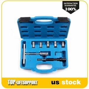 For Mercedes Crd Cdi Diesel Injector Seat Cutter Set Cleaner Carbon Cutting Too