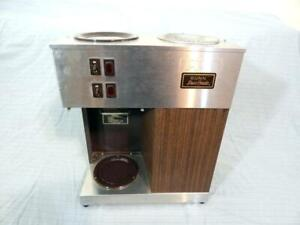 Bunn Vpr Commercial Coffee Brewer W 2 Warmers Pour O Matic