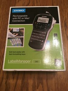 Dymo Labelmanager 280 Rechargeable Hand held Label Maker 1815990