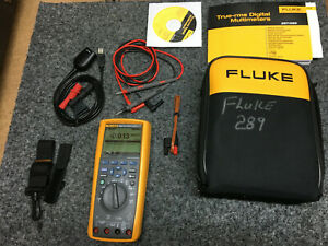 Fluke 289 True Rms Multimeter With Leads And Case Excellent