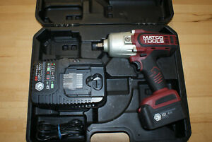 Matco Tools 20v Mcl2012hpiw Impact Wrench Gun W Battery Charger 10874
