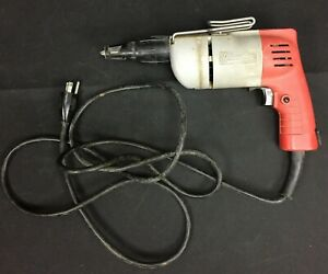 Milwaukee Drywall Sheet Rock Screw Shooter Drill Corded 120v 5 Amp