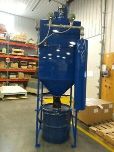 5hp Dust Collector Cartridge Filters Reverse Air Flow Cleaning