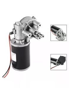 Jcf63l Dc110v High Torque Reversible Electric Gear Motor 60rpm 80w New No Box