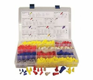 Brand New 620 Piece Wire Twist Connector Kit Set Assorted Caps Nuts Electric