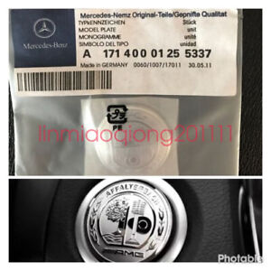 Mercedes Benz Amg 37mm Sticker Start Button Keyless go Comfort Access C63