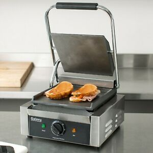 New Galaxy Commercial Panini Grill Sandwich Maker Press Electric Restaurant