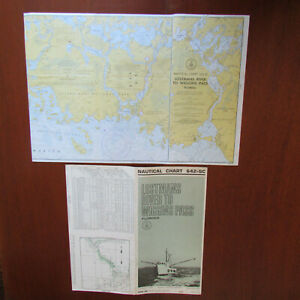 Nautical Chart 642 Sc Lostmans River Wiggins Pass June 1970