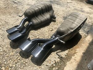 2006 Mercedes Cls55 Amg Mufflers Exhaust Tips Oem E55 S55 Cl55 Sl55