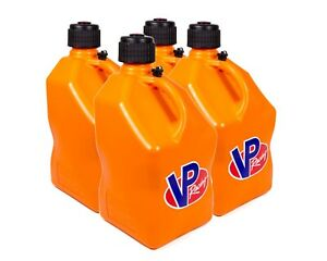 Vp Fuel Containers 3574 Utility Jug 5 Gal Orange Square case 4 Free Ship