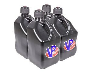 Vp Fuel Containers 3584 Utility Jug 5 Gal Black Square case 4 Free Ship