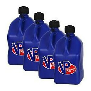 Vp Fuel Containers 3534 Utility Jug 5 Gal Blue Square case 4 Free Ship